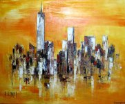 Skyline New-York (73x60cm)